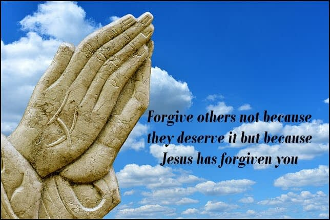 Forgiveness is the greatest gift