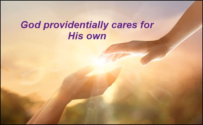 God cares for his own