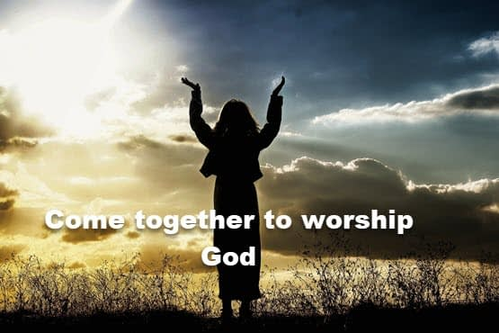 Worship God alone for He is Creator