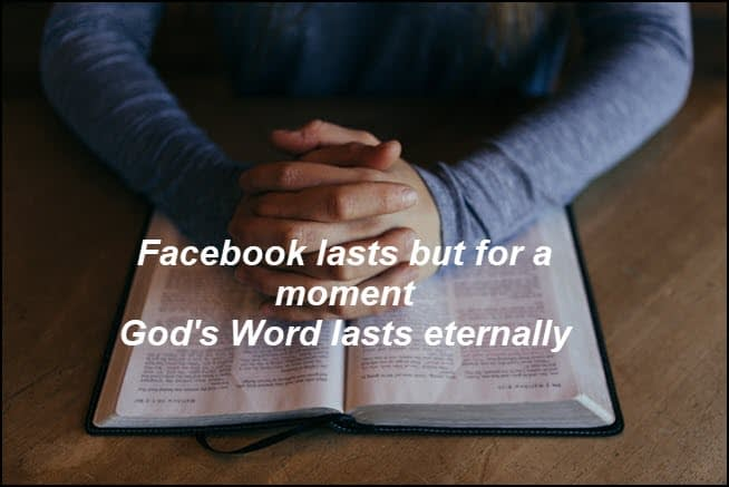 God's Word is eternal