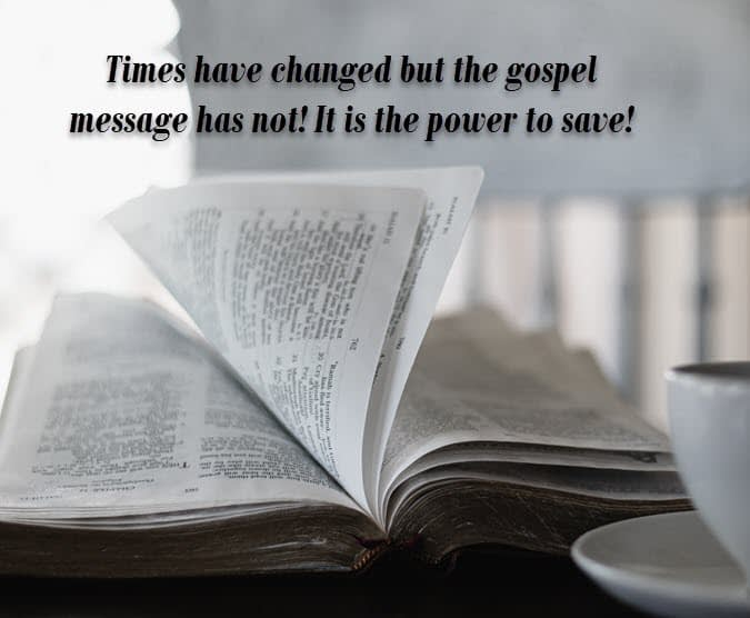 The gospel message