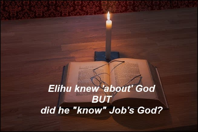 """You can """"know"""" about God but do you """"know"""" God?"""