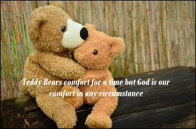 God is the God of all comfort