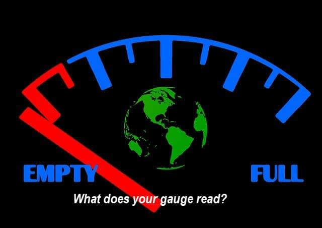 What does your gauge read