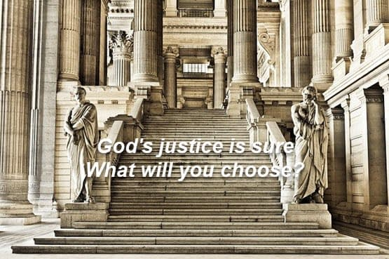 God's justice is sure