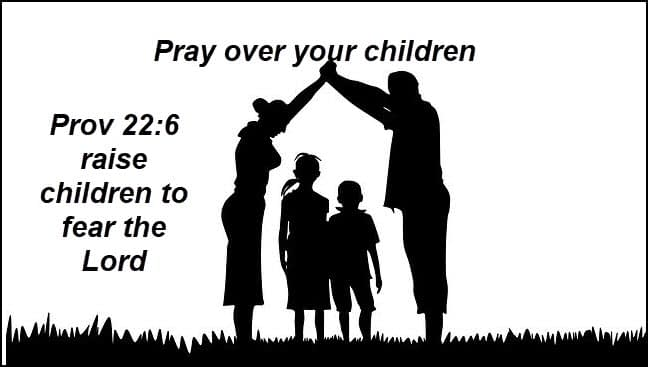 Pray for your children