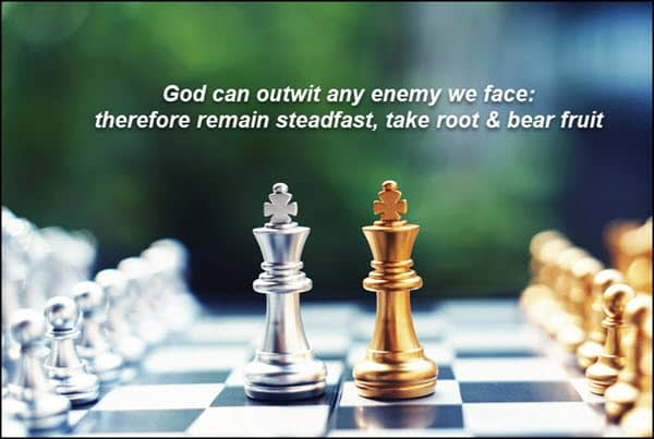 God is the master chess player