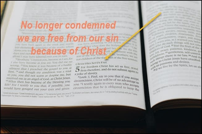 No more condemnation