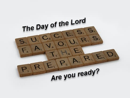 God is calling us to be prepared