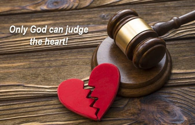 God is judge