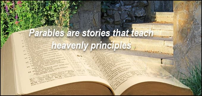 Parables are about real life and real decisions