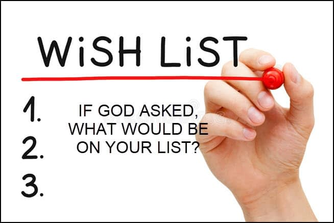 what would you answer God if he asked that same question