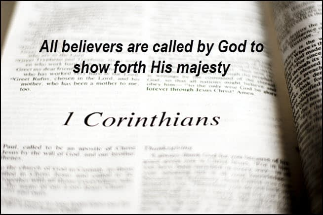 Believers are called